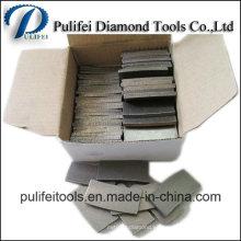Segmento para segmento de arenisca de diamante de corte de mármol de granito