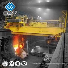 Fábrica de acero resistente usando la grúa de 350 toneladas, grúa de colada de 350 toneladas para la elevación de la cucharón