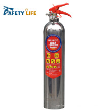Good quality stainless steel fm200 fire extinguisher