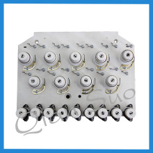 9 needle embroidery machine parts Thread Tension Plate
