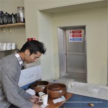 Cocina pequeña Servicio de comidas Ascensor residencial Comidas Elevador de montacargas