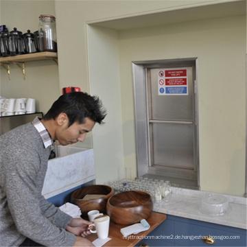 Kleine Küche Food Service Residential Aufzug Mahlzeiten Dumbwaiter Aufzug