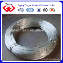 16# Hot Dipped Galvanized Wire with high Tensile Strength Real Facory