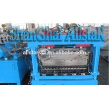 Steel grain silos machine