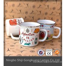 Enamelware Mug heavy duty suction cup