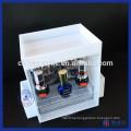 Wholesale White Acrylic Nail Polish Makeup Organizer Cosmetic Storage
