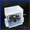 Atacado White Acrylic Nail Polish Makeup Organizer Cosmetic Storage
