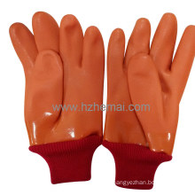 3 Layer PVC Winter Gloves Insulated Gloves Safety Work Glove