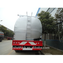 High safety 30-50m3 fuel tanker trailer, 3 axle cheap semi trailers