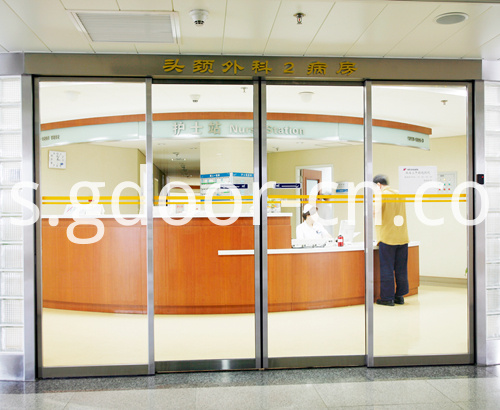 Automatic Sliding Doors for Hospitals