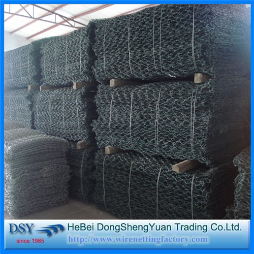Hexagonal Gabion Box for Stone Cage Wall