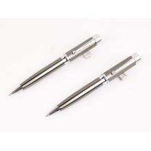 La pluma promocional más nueva del metal de la calidad con la pluma de bola del logotipo / de metal / el bolígrafo del metal