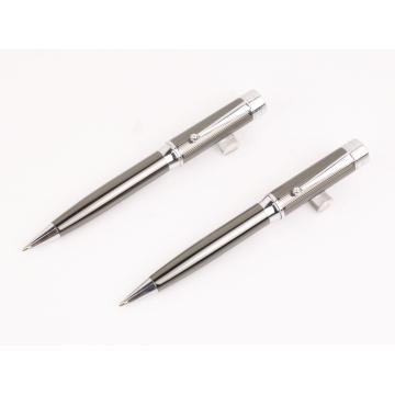 Новейшие качественные рекламные металлические ручки с логотипом/ручка шарика металла/металлическая Шариковая ручка