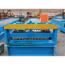 Máquina formadora de rollos de placa para techos rusa