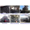Exportado Canadá Tratamiento de agua Material 6-10 mm CS Carbón activado