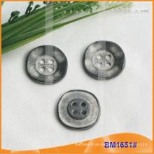 Botón de aleación de zinc y botón de metal y botón de costura de metal BM1651