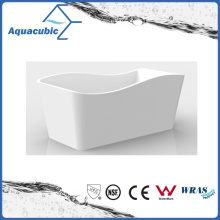Bathroom White Free-Standing Acrylic Bathtub (AB1552W)