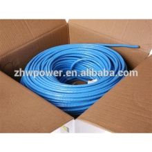 Cordon de raccordement Cat6, câble de raccordement de câble LAN 305m / roll / box, rj45 cat5e