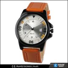 Color cambiante reloj de marca reloj de acero inoxidable reloj hombre