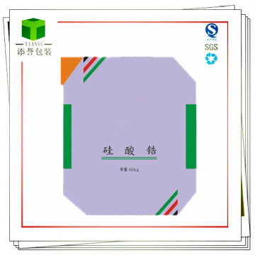 Kraft Paper Valve Bag for Zirconium Silicate