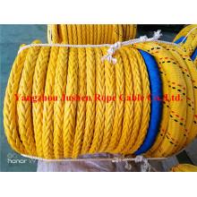 Corde d'amarrage en fibre UHMWPE à 8 brins