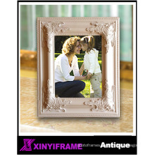 Classical models manufacture beautiful design small Wood carved Stand Back Photo Frame Factory holding photo picture frame