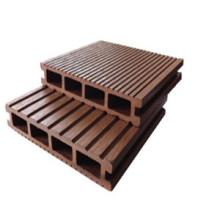 Plancher de WPC de prix concurrentiel d'approvisionnement d'usine avec le bas entretien