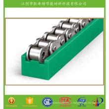 Guide latéral à rouleaux pour chaînes de convoyeurs