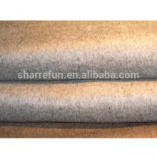 fábrica al por mayor de lana 100% tela de la capa de cachemira pura (450 g / m²)