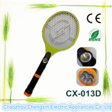 Rechargeable Electric Fly Swatter with LED Torch