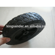 Roda de borracha semi-pneumática 8x1.75