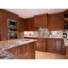 Americano resistente à água montado gabinete de cozinha com bancada