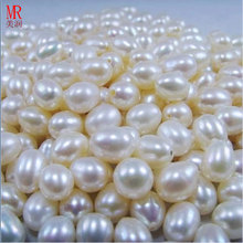 10-11mm Rice / Oval Shape Freshwater Loose Pearls