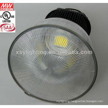 Prismatic reflector for gas station led high bay light