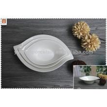 Venta al por mayor blanco porcelana bowl set fabrica