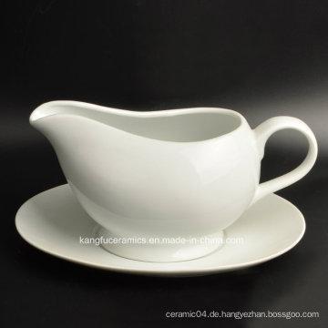 Kundenspezifischer Entwurfs-billiger Preis-keramischer Milch-Rahmtopf