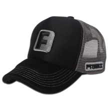 Trucker Hat with Flat Embroidery (OKM03-0001)