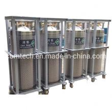 Welded Insulated Liquid Nitrogen Oxygen Dewar Cylinders