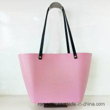 Guangzhou Supplier Lady Jelly Handbags EVA Bag (NMDK-040105)