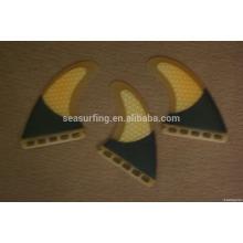 2015 new style honeycomb fiberglass surfboard fin/honeycomb fins