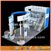 Diseño de stand de exposición especial de alta calidad en Shanghai