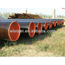 труба ASTM a333 гр.6 труба sch40 безшовная труба углерода стальной гофрированной трубы сварки