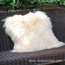 Wholesale Price for Lamb Skin Pillow,Luxury Fur Pillow,Sheep Fur Pillow Wholesale from China Home Decorative Custom Size Lamb Fur Cushion Cover supply to Dominican Republic Manufacturers