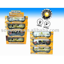 923040077-Diecast trailer functions truck model