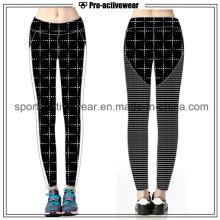 Soem-Service-Gewebe-Sport-Großhandelsneueste Entwurfs-Frauen-Yoga-Hosen