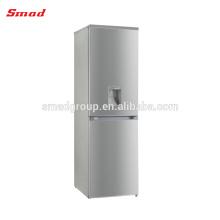 Zwei Tür No Frost Edelstahl Kühlschrank mit Dispenser