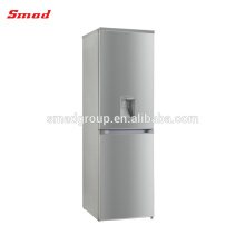 Two Door No Frost Stainless Steel Refrigerator With Dispenser
