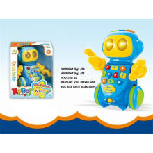 Baby Toy Battery Operated Robot Toy (H9327009)