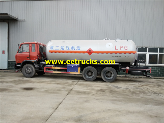 10 Wheel LPG Delivery Tank Trucks