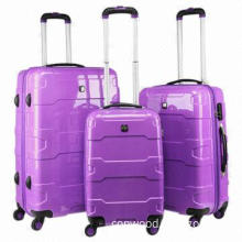Rose Red ABS Luggage